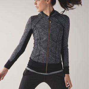 Lululemon Daily Practice Full Zip Jacket, Black, 6